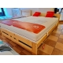 Łóżko LK117 sosnowe Drewmax