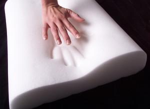 przykład elastyczności punktowej pianki lateksowej