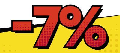 Rabat 7%